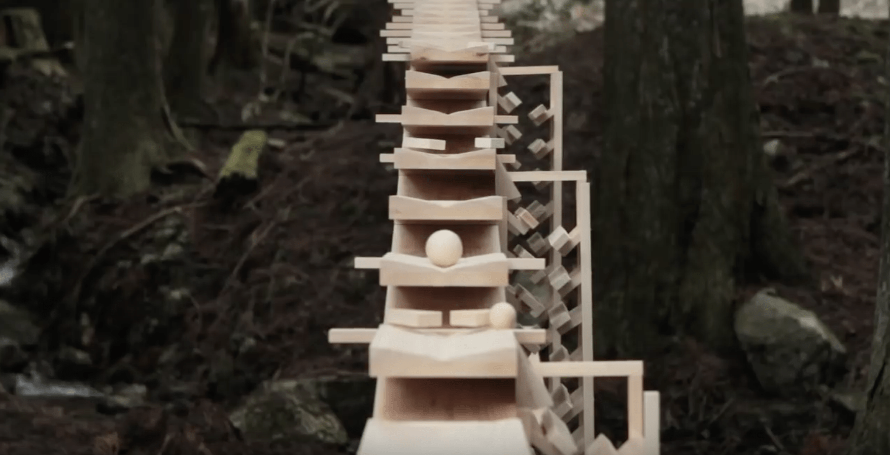 Made in Japan: Witness the World's Most Mesmerizing Gravity-Powered Sound Machine