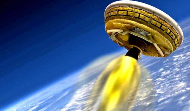NASA Plans To Test Launch UFO For Future Mars Mission