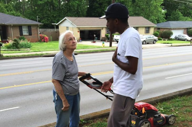 """College Student """"Raises Men"""" By Providing Free Lawn Care To The Elderly And Disabled"""