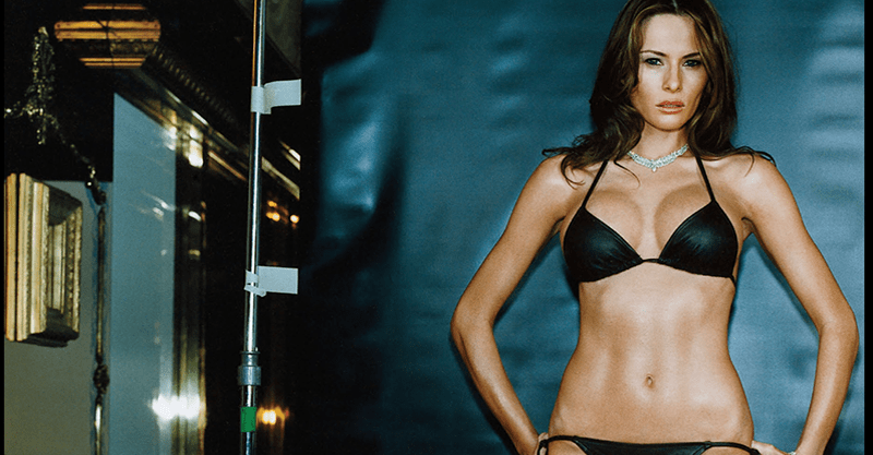 First Lady Melania Trumps Topless And Naked Photos That