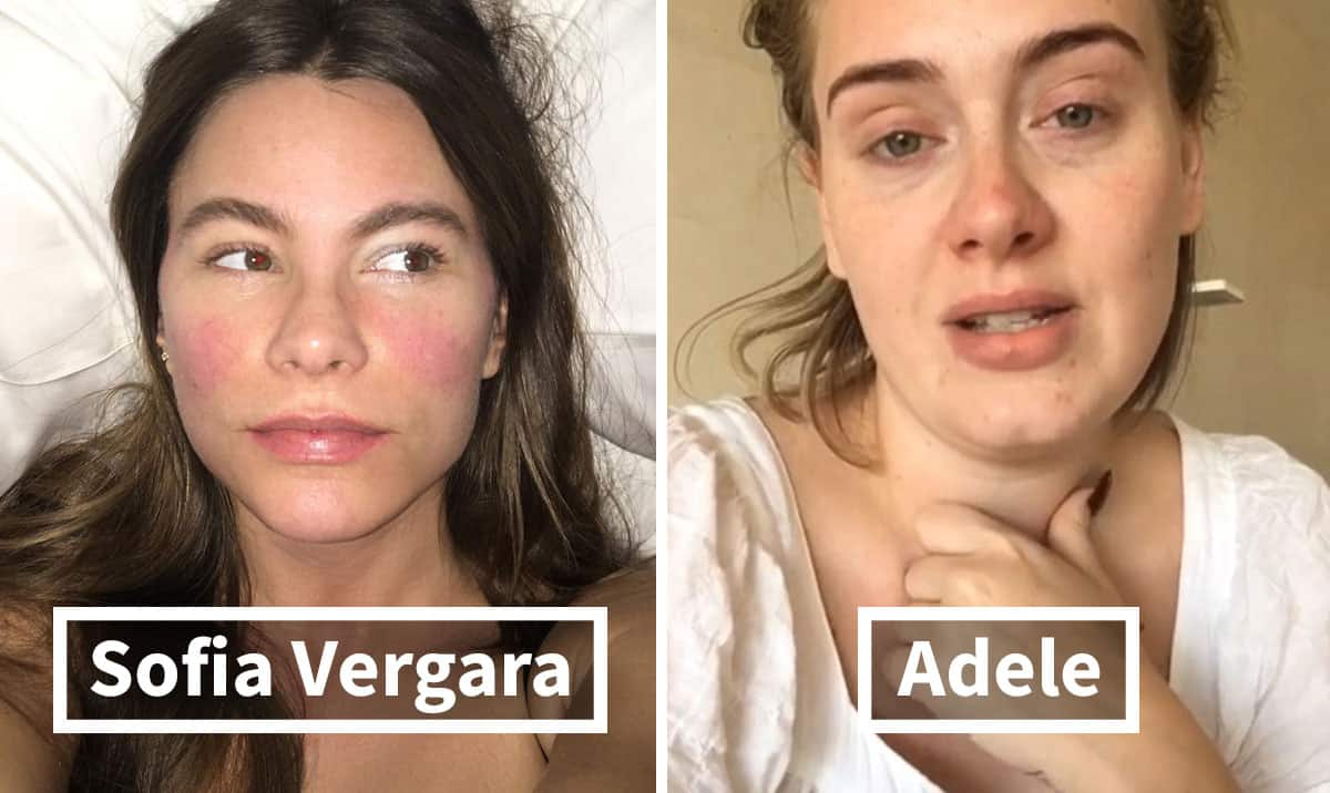 these 30+ images of celebrities without makeup prove they