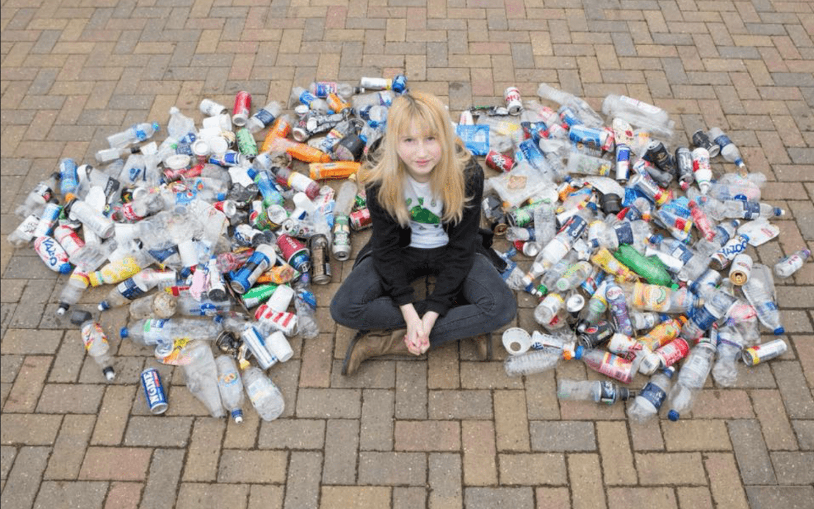 12 Year-Old Super Hero Saves The World, One Piece Of Rubbish At A Time