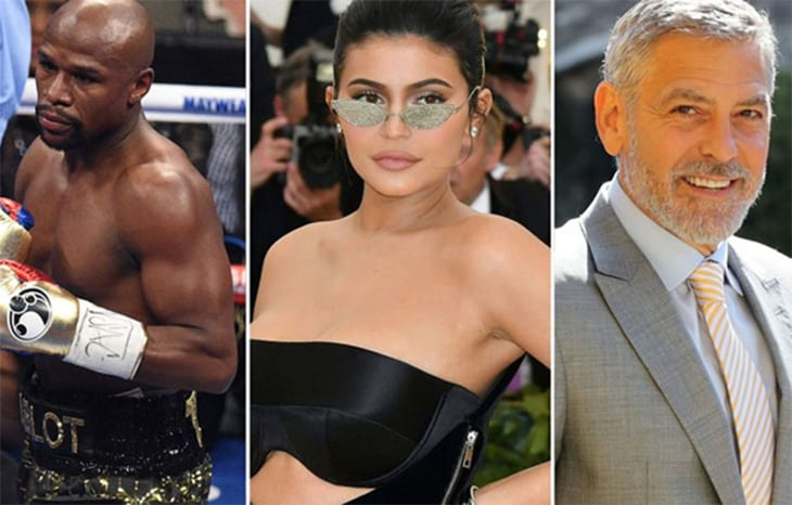 There's Money in the Spotlight – World's Highest Paid Entertainers