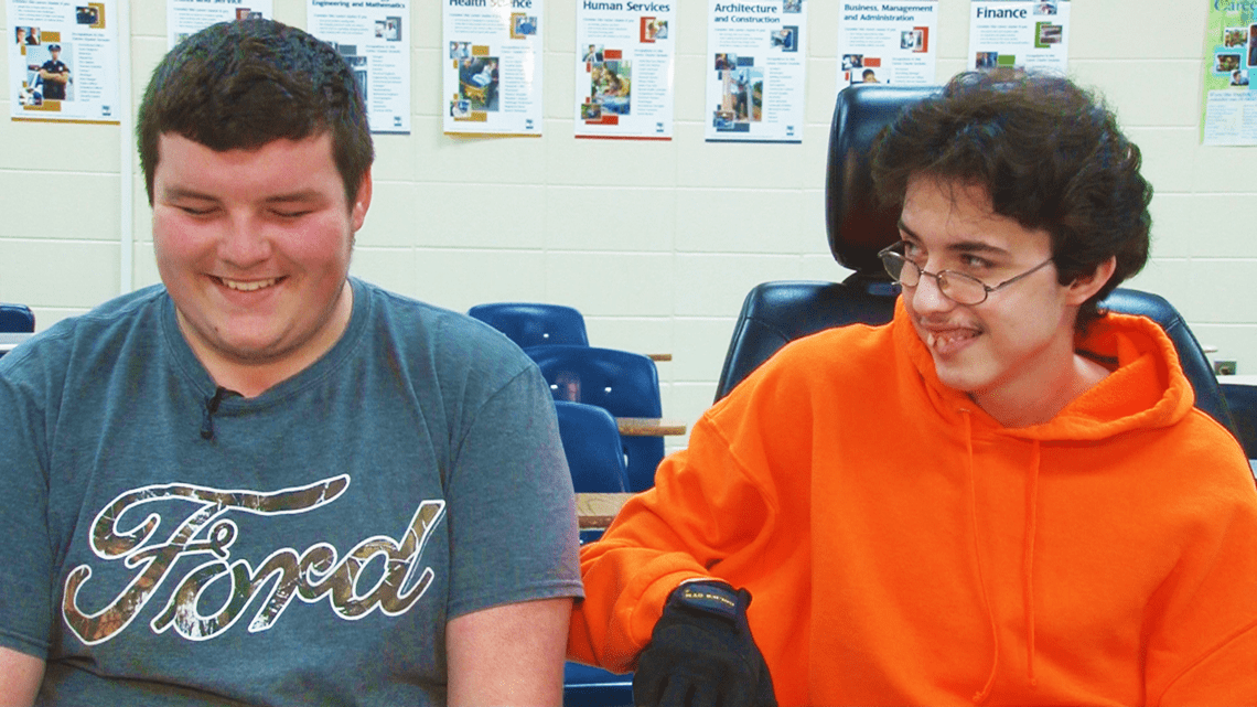 Selfless Teenager Saves Up 2 Years Worth Of Money To Buy His Best Friend An Electric Wheelchair