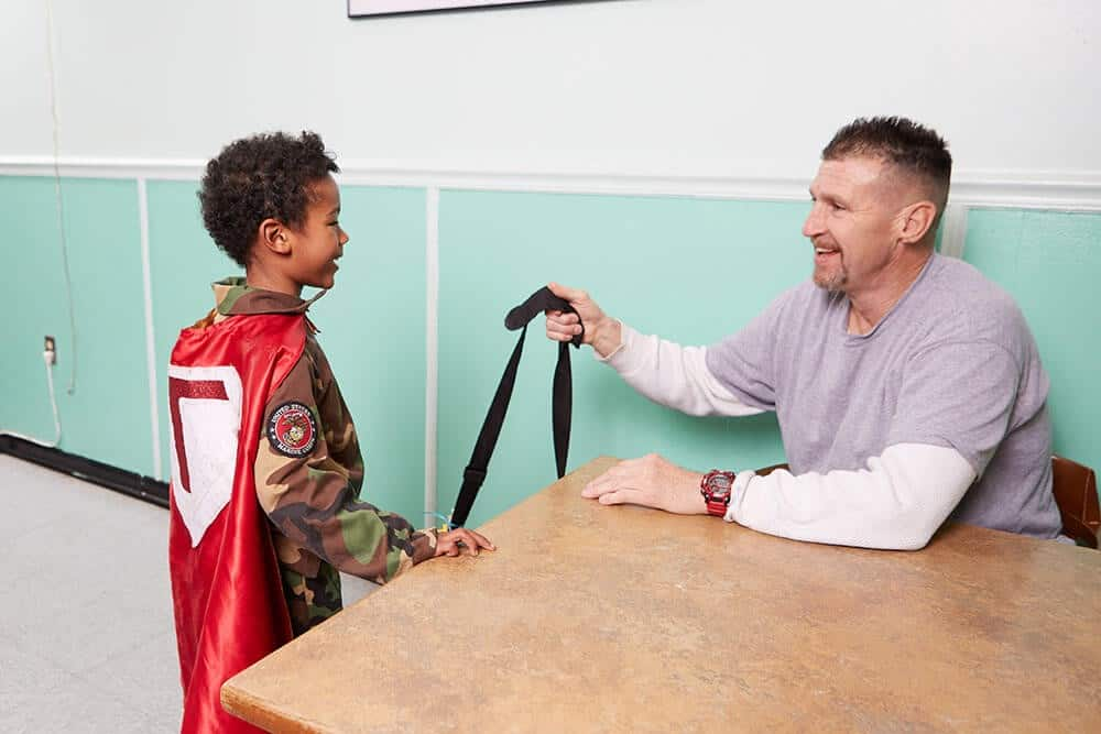 """7-Year-Old Boy Gives Away """"Hero Bags"""" To All Homeless Veterans To Help Them Get Back On Their Feet"""