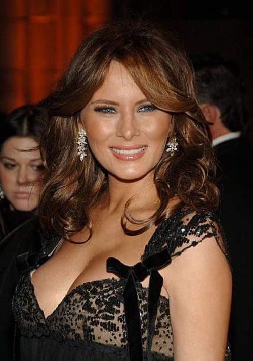 First Lady Melania Trump's Topless And Naked Photos That President Donald Trump Does Not Want ...
