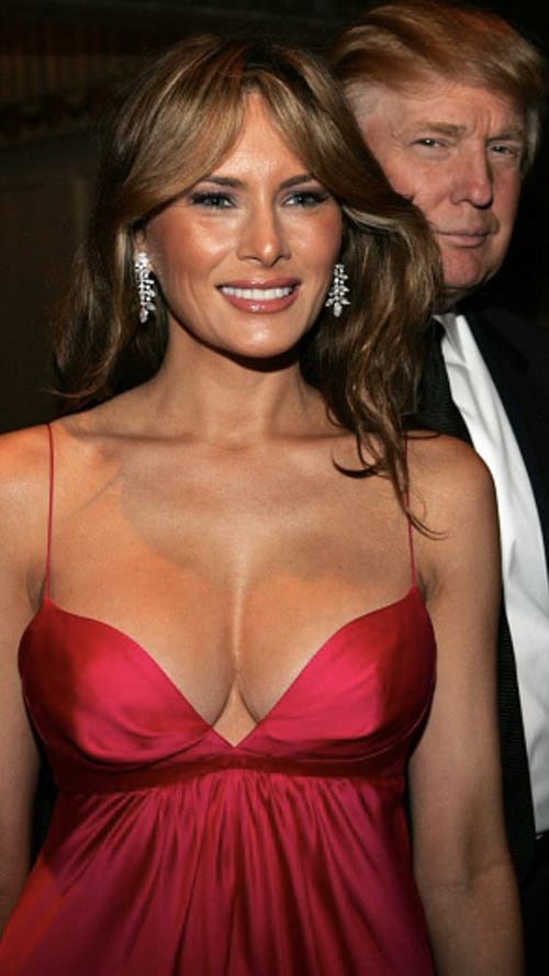 Melania Trump (As Ms. Knauss)