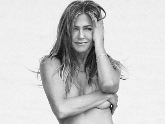 Aniston went on diet before nude scene (see pics