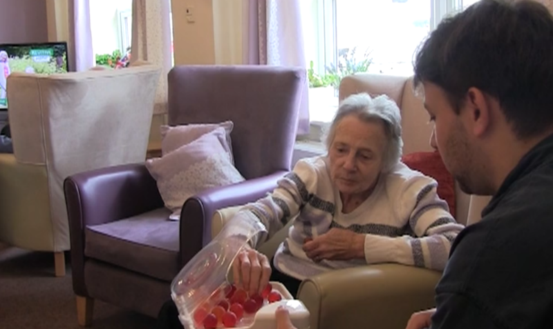 To Help His Grandma And Other Patients With Dementia Get Enough Water, A Man Invents Hydrating Gummies