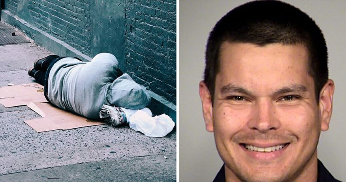 Police Officer Suspended For Giving Homeless Guy A Dog Sh*t Sandwich Gets His Job Back In Texas