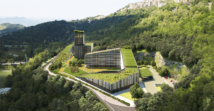 Green Sustainable Forest City Will Be Built In Mexico And Will House 7.5 Million Plants Of 400 Different Species