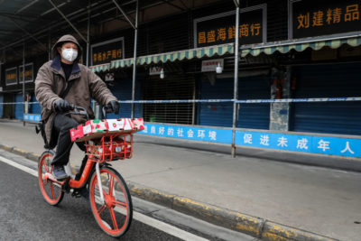 "CoV UPDATE - ""I'm In An Apocalypse"" – New Accounts From Wuhan plus MORE Wuhan-virus-man-bike-400x267"