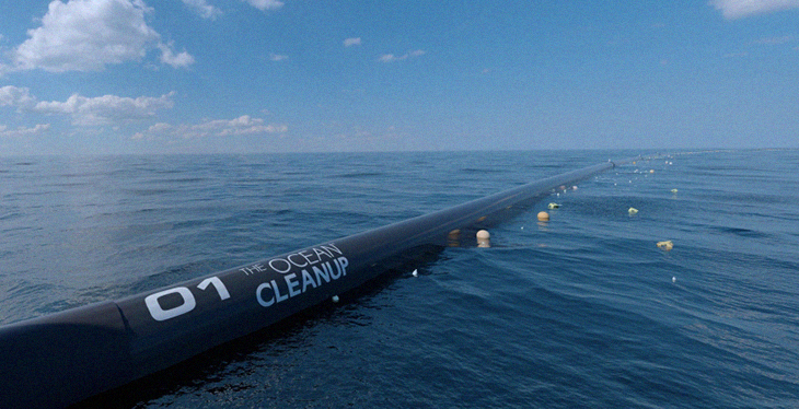 This Great Ocean Cleanup Device Can Haul In 50% Of The World's Garbage!