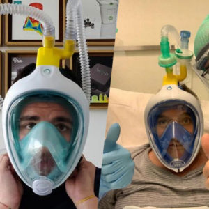 Simple Scuba Masks Turned Into Ventilators To Save Lives During The Coronavirus Pandemic