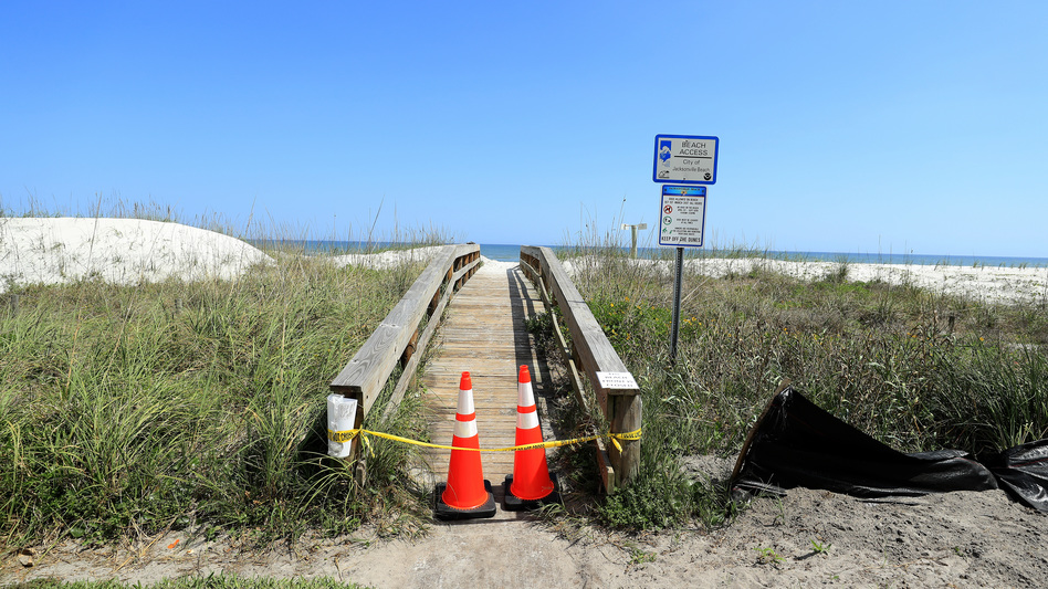 Even As Coronavirus Cases Continue To Rise In Florida, Jacksonville Beaches Reopen To The Surprise Of Many