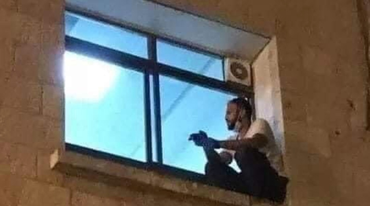 Palestinian Man Scales Wall Of Hospital Every Night To Spend His Mother's Dying Breaths As She Suffers From COVID-19