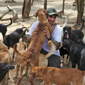 Man Who Opened His Home to Shelter 300 Dogs From A Hurricane Deemed Hometown Hero