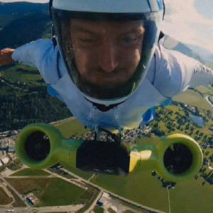 BMW Has Taken Electric Wingsuit Flying To The Extreme By Reaching Speeds Of 186 Mph
