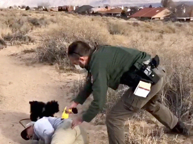 Indigenous Native Tased By Park Ranger At A National Monument After Walking Off The Path To Pray