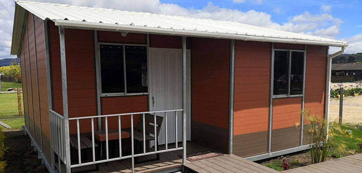 Colombians Have Made Amazing Low-Cost Houses Made From Coffee Waste