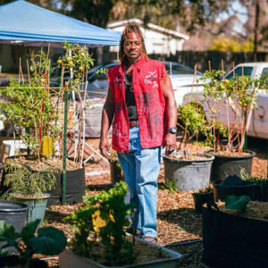 Florida Man Uses His Stimulus Check To Grow A Home Garden To Help His Community