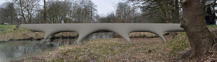 Nijmegen Now Has The 'World's Longest' 3D-Printed Concrete Bridge, And It's Pretty Impressive